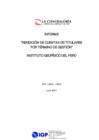 Vista preliminar de documento Transferencia de gestión y rendición de cuentas - IGP