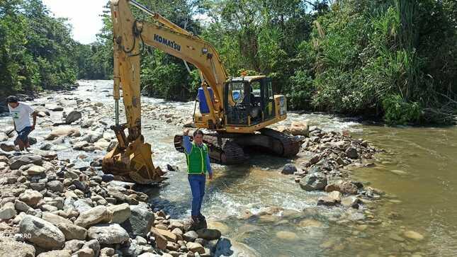 El PEAH Contribuye con Maquinarias en Beneficio de la Población de la Morada en Huánuco.