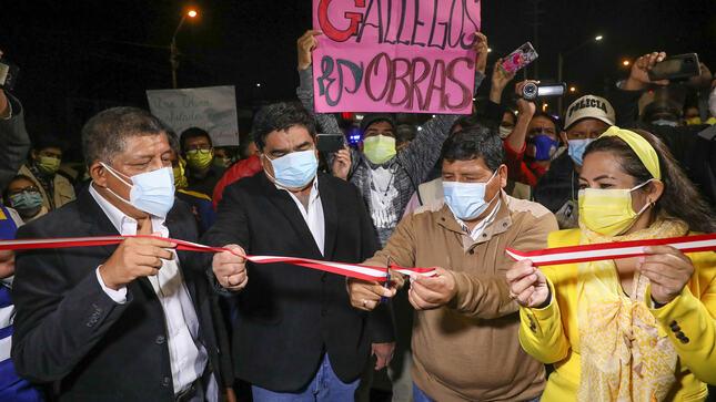 Doble vía Ica-salas Guadalupe ya es una realidad y fue entregada por el gobierno regional