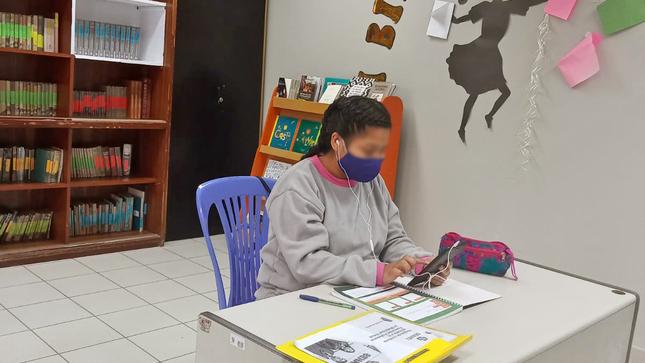 Adolescente del Centro Juvenil Santa Margarita ingresa a SENATI