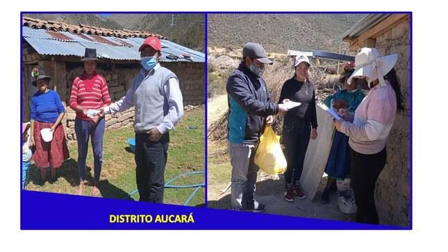 Entrega de kits de mascarillas a todas las Municipalidades Distritales de todo el ámbito de la Provincia Lucanas.