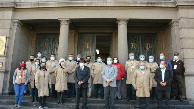 Ministro de Cultura visitó sedes del Archivo General de la Nación