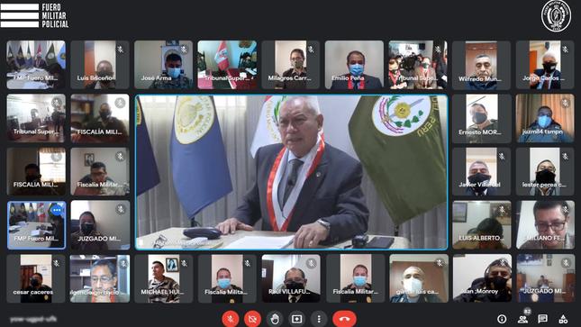 Reunión de Coordinación con los Elementos Operativos del FMP a nivel nacional