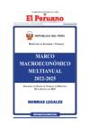 Vista preliminar de documento Marco Macroeconómico Multianual 2022-2025 (MMM)