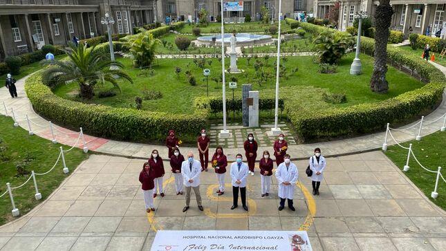 Hospital Loayza conmemoró el Día Internacional del Obstetra