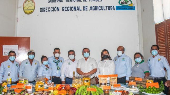 GOREU y gobierno regional de Tumbes intercambian proyecciones en el sector agrario