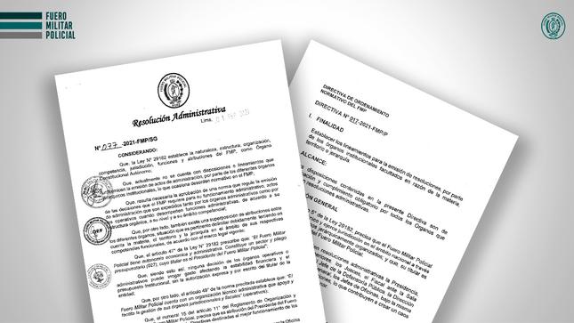 Directiva de Ordenamiento Normativo del FMP