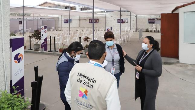 SUSALUD inicia investigación en vacunatorio de la clínica San Pablo
