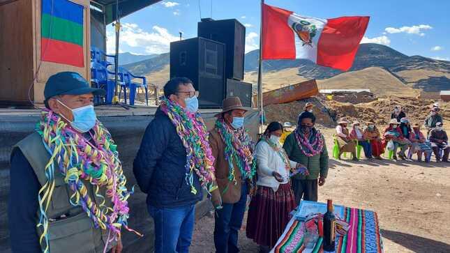 PEBLT se convierte en Unidad Ejecutora de dos proyectos del distrito de Macari