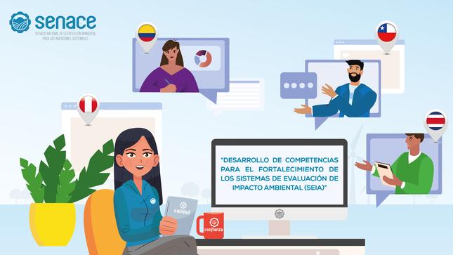 Perú, Chile y Colombia compartieron jornada de intercambio de experiencias en certificación ambiental