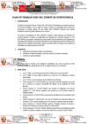 Vista preliminar de documento Plan de Trabajo 2021 del Comité de Ecoeficiencia