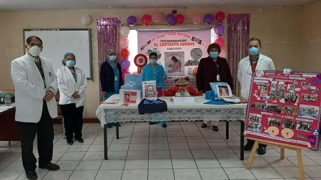 Con actividades se celebra Semana de la Lactancia Materna en el INMP