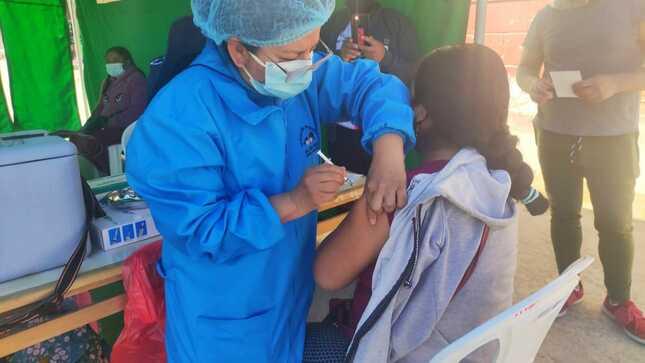 Ayacucho: Más de 9500 personas vacunadas contra la covid-19 este último fin de semana
