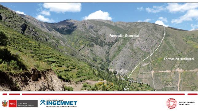 Ingemmet realizó el cartografiado geológico del cuadrángulo de Huancapi