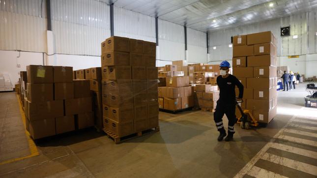 Ministerio de Salud (Minsa) distribuyó más de 667 toneladas de suministros médicos contra la Covid-19