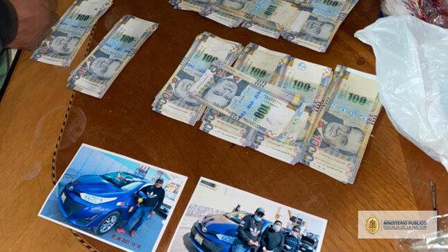 Las autoridades incautaron inmuebles, dinero, fotos, teléfonos (Foto: Fiscalía de Perú)