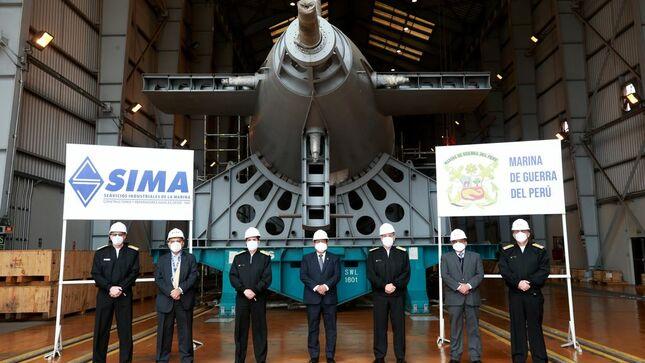 Ministro de Defensa visitó el Sima y supervisó los avances de sus proyectos de industria naval
