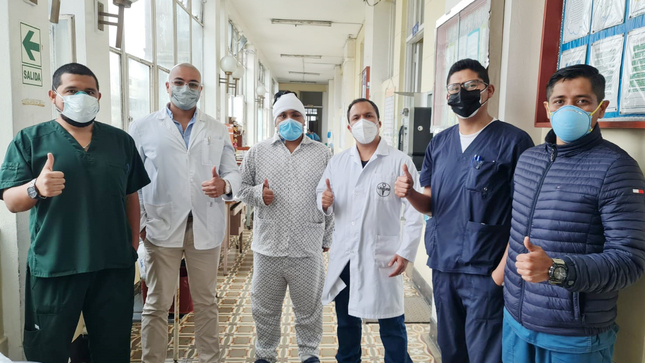 Neurocirujanos del Hospital Loayza salvan a joven con aneurisma cerebral gracias a técnica de cirugía de alta complejidad