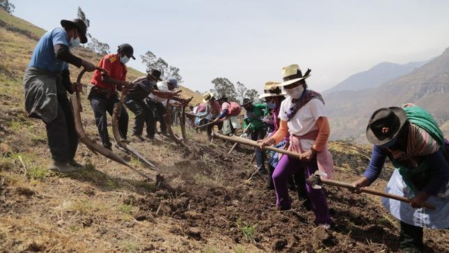 Midagri: Agro Rural promueve el desarrollo de cadenas productivas agropecuarias en zonas rurales de Áncash
