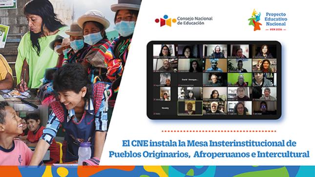 El CNE instala la Mesa Interinstitucional de Pueblos Originarios, Afroperuanos e Interculturalidad