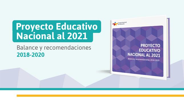 """CNE presenta último Balance del PEN al 2021 """"La educación que queremos para el Perú"""""""