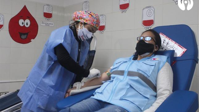 ¡Seguimos salvando vidas! Hospital Emergencia Ate Vitarte y la Fundación Internacional WeLoveU realizó exitosa Campaña de Donación de Sangre