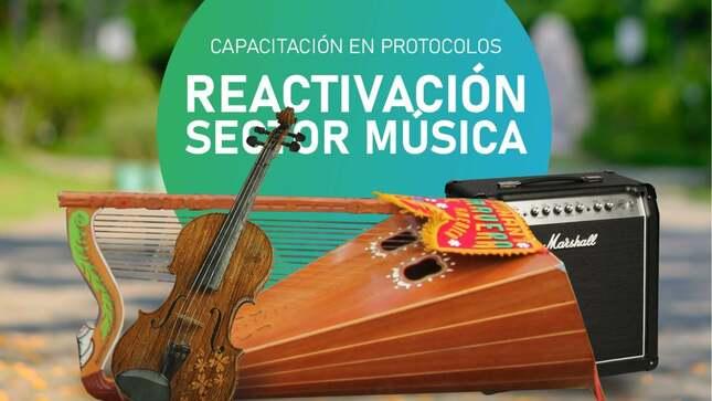 Reactivación sector música
