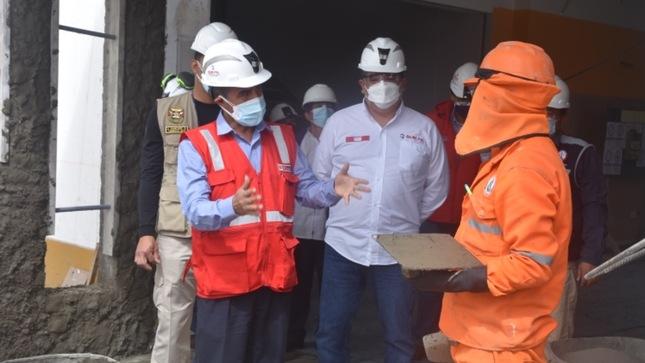 SUNAFIL brinda asistencia técnica a más de 2 mil trabajadores de construcción civil en la región Ayacucho