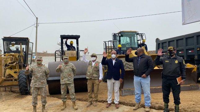 Ministro de Defensa destaca trabajo del Ejército a favor del desarrollo con obras de ingeniería
