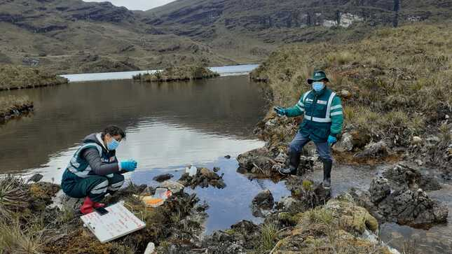 Finalizan monitoreos de la calidad de Agua en Cajamarca y La Libertad