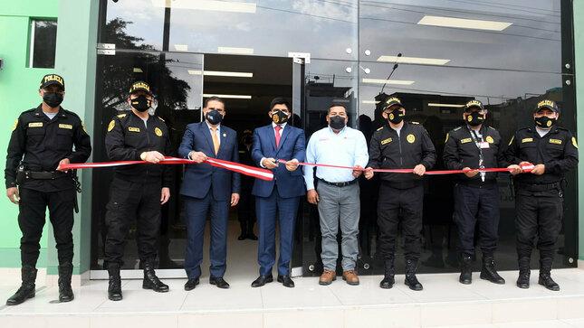 Seguridad ciudadana se refuerza en Trujillo con nueva comisaría La Noria