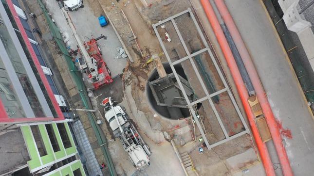 Sedapal coloca compuerta que permitirá restablecer mañana el servicio de agua potable en San Juan de Lurigancho