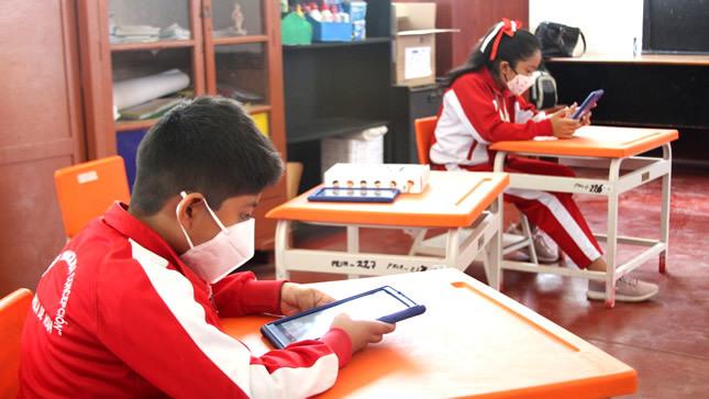 Dos colegios de Lima inician esta semana clases semipresenciales con protocolos de bioseguridad