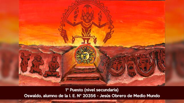 Vichama: resultados del exitoso concurso escolar de dibujo y pintura en Végueta