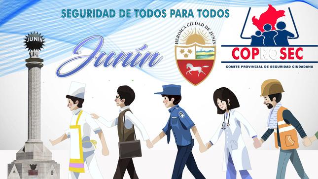 Evaluación de desempeño de los integrantes del COPROSEC - Junín