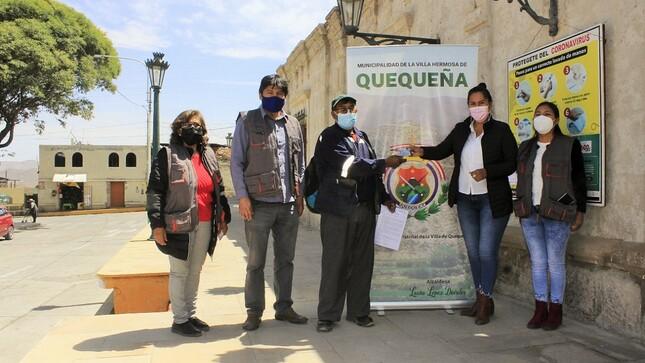 Arequipa: Comuna de Quequeña entrega carnet del Conadis gracias a la gestión de su alcaldesa ante el Registro del Conadis