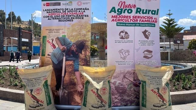 Más de 44 000 familias productoras serán beneficiadas con campaña de abonamiento con guano de las islas y fertilizantes alternativos