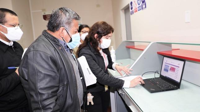 Corte de Lima pone en funcionamiento Módulo de Atención Presencial a Usuarios