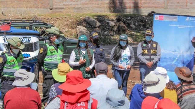 Junín: Recogen 10 toneladas de residuos sólidos del río Cunas