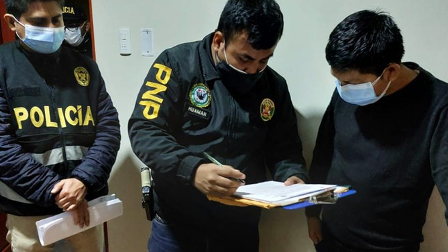 PNP detiene a 10 funcionarios de beneficencia de Chiclayo por caso de colusión