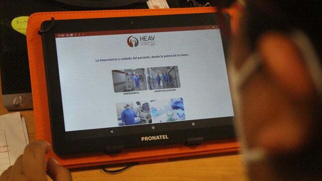 Siempre al cuidado de sus pacientes: Hospital Emergencia Ate Vitarte implementa novedosa APP para vigilancia epidemiológica