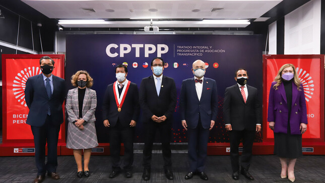 Perú próximo a poner en vigencia el Tratado Integral y Progresista de Asociación Transpacífico