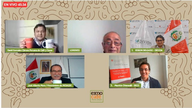 MIDAGRI: Perú se consolida como octavo exportador mundial de café