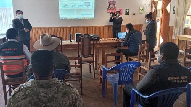 Realizan simulacro ante sequía en Puno