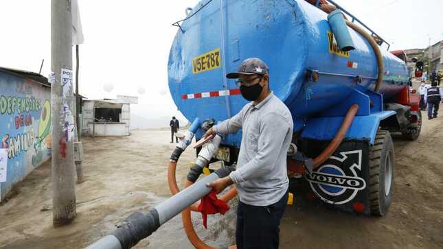 Ministerio de Vivienda transfiere más de S/ 35 millones a Sedapal para reparto gratuito de agua a población vulnerable