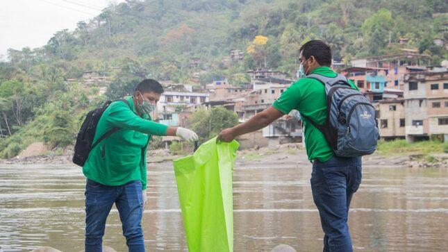 Vraem: Devida y Municipalidad de Kimbiri realizan jornada de limpieza del río Apurímac
