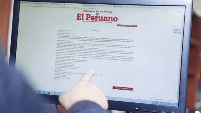 Presidente Castillo promulgó ley que establece el destino de cadáveres de internos por condenas de terrorismo o traición a la patria