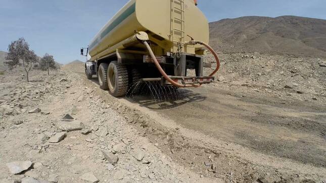 Municipalidad Provincial de Barranca realizó el mejoramiento de la trocha carrozable en Santa Rosita de Taytalaines