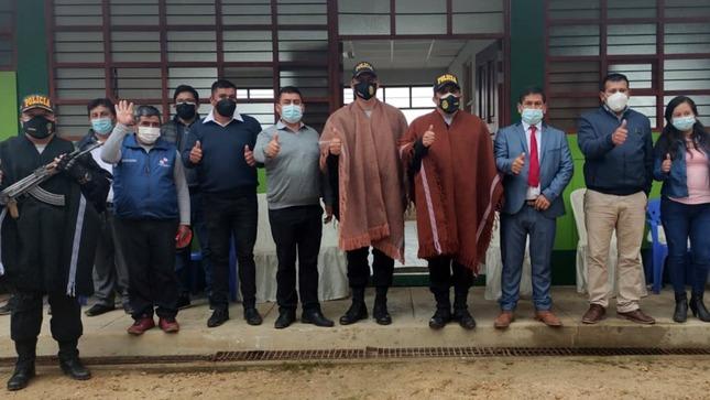 Cajamarca: PNP recibe local para instalar futura comisaría de Choropampa