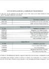 Vista preliminar de documento Acta de instalación de la Comisión de Transferencia